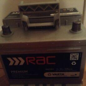 Car Battery- Varta premium, 3 months old