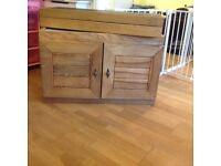 Fish tank cabinet + top