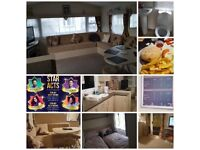 Beautiful caravan hire** 16th july to 20th only £225**