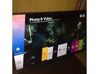 "LG 43"" Smart TV LED warranty till 2017 Free Delivery apps wi-fi"