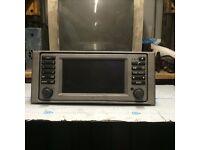 RRANGE ROVER VOUGE 2005 SAT NAV UNIT GPS LCD SREEN ASSEMBLY MOUNT RD1RV830
