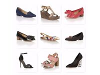 Joblot women's ladies high end branded shoes - 45 pairs of Ravel shoes, all new in boxes