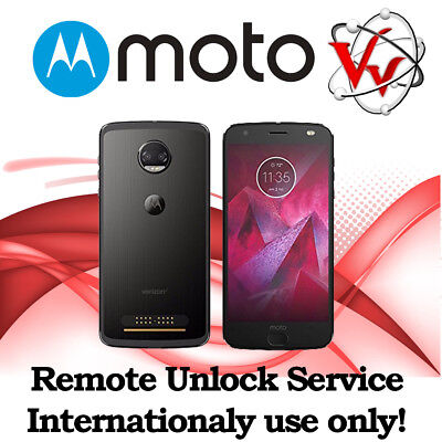 Remote SIM Unlock Service Moto Z2 FORCE XT1789 Sprint, Boost outside USA