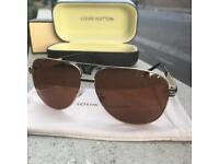 Louis Vuitton aviators, luxury designer sunglasses
