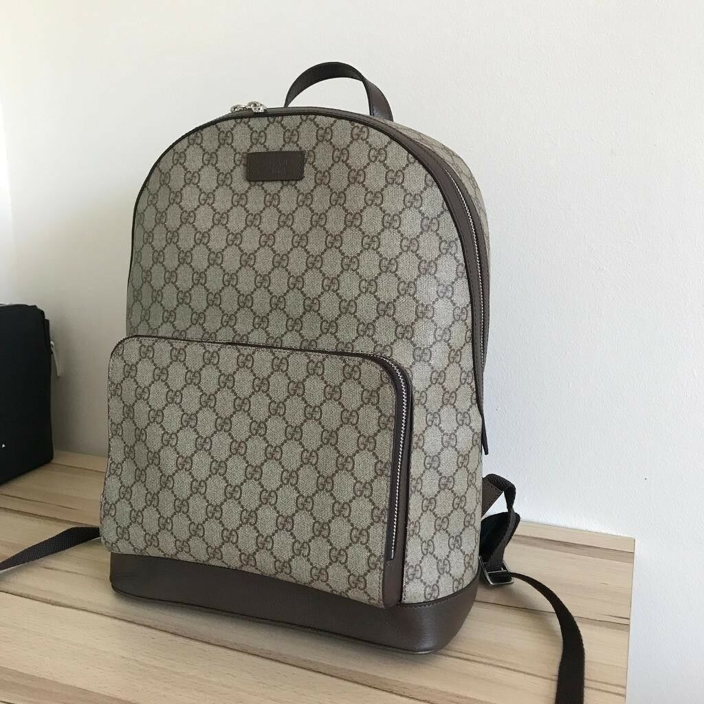 08f28ca88f2d19 Gucci GG Monogram Supreme Backpack | in Acton, London | Gumtree