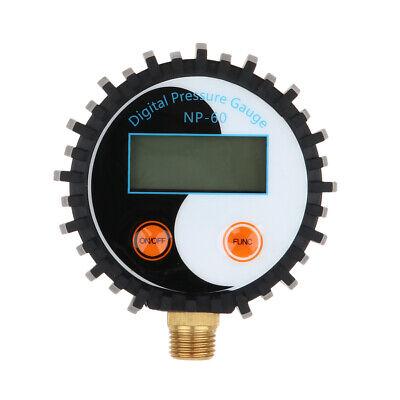 0-150psi Lcd Digital Gas Pressure Gauge Manometer Car Motor Truck Auto