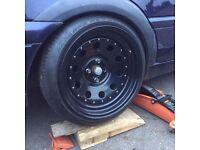 Extreme offset wheels