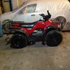 Honda 400cc quad 4x4