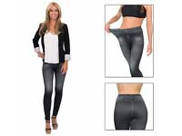 Trim 'N' Slim Jeans: Comfortable Slimming Shapewear Jeggings
