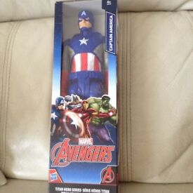 Captain America Titan Hero Series figure - new