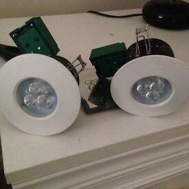 Pair of spot lights