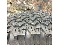Mark 1 Range Rover Wheel with Tyre