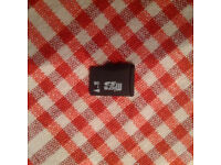 Micro SD Card 1GB Fully Working formatted to FAT32