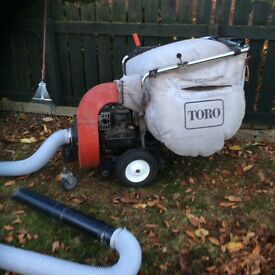 TORO leaf / garden sweeper