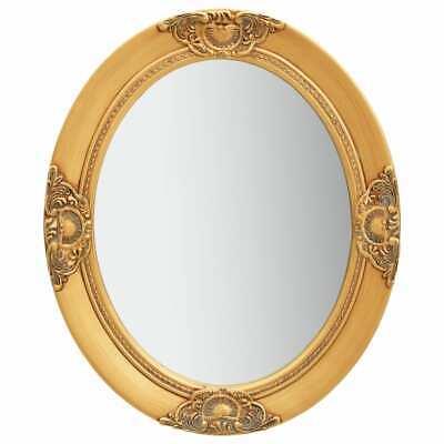 vidaXL Espejo de Pared Estilo Barroco Dorado 50x60 cm Colgante Retro Antiguo