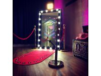 Hollywood Magic Mirror Photo Booth Manchester, Lancashire, Liverpool, Yorkshire, Cheshire
