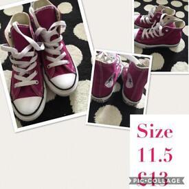 Girls shoe bundle size 11 & 11.5