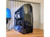 Gaming PC i5 8GB Ram GTX 760 OC 4GB 128GB SSD + 500GB HDD Desktop Computer
