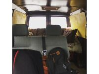VW Transporter Seats double