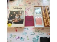 Waddingtons cribbage card game. One in box with score board
