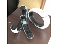 Idect - set of 2 house phones - Like new