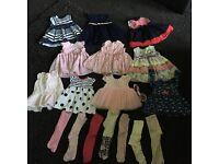 Large baby girl bundle