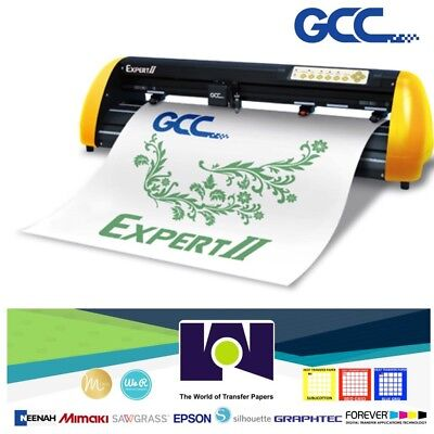 Gcc Expert Ii-24 Vinyl Cutter For Sign And Htv 24 61 Cms Free Shipping