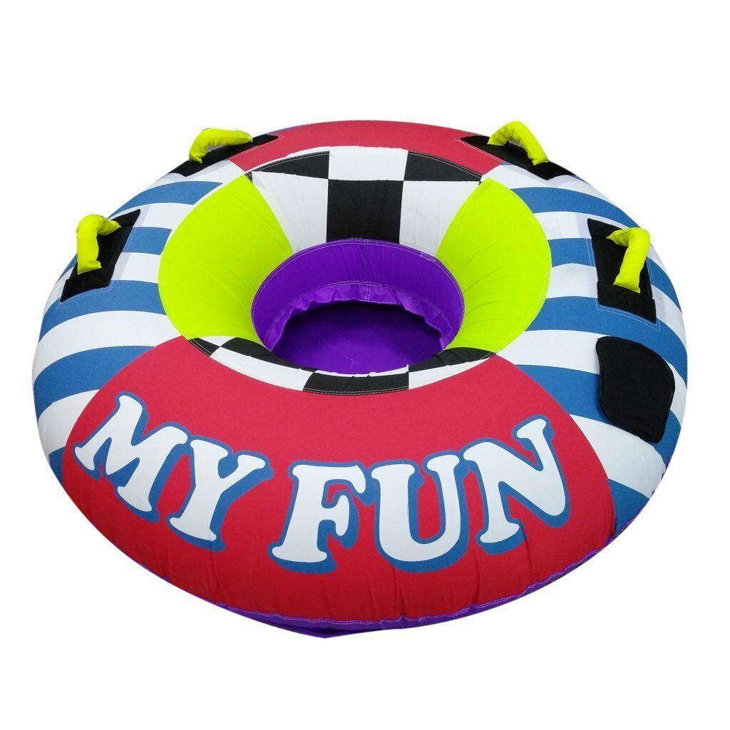 My Fun Inflatable Towable Tube Water tubing for boat, Jet sk