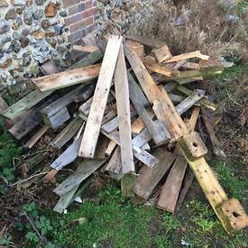 Scrap wood, fire wood, timber offcuts, scrap pallets