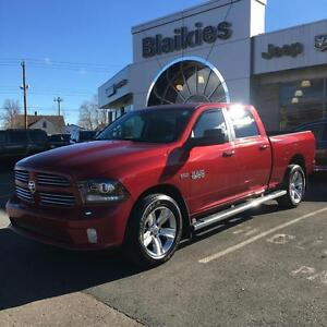 2014 Ram 1500 Sport | LEATHER HEATED/ VENTED SEATS | BACK UP CAM