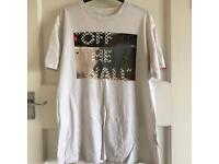 Vans Off The Wall White T Shirt