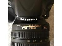 Nikon D5100 digital SLR & 18-105mm DX Nikon lens- Price Reduced !!