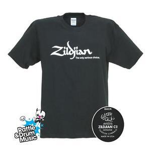 Zildjian-Classic-Black-T-Shirt-Genuine-Zildjian-Merchandise