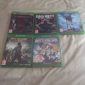 LOOK 5 XBOX ONE GAMES FOR SALE