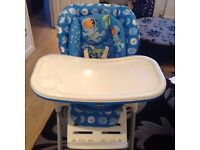 Chicco-Polly-2-in-1-Highchair-Moon