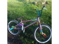 Nice clean custom bmx wethepepole frame for swaps on jump bike