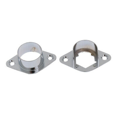 PACK 4 Curtain Rail Support Wall Recess Bracket Curtain Blind Accessories
