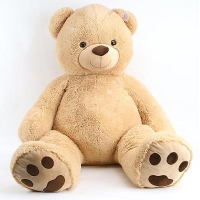 Riesen Teddybär XXL 135 cm Kuschelbär Schmusebär Plüschtier Kuscheltier Teddy