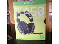 Astro A50 Xbox one headset brand new unopened