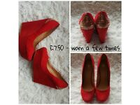 Various ladies shoes for sale