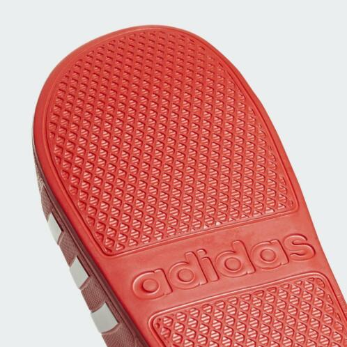 adidas badslippers rood wit