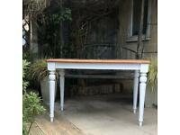 "Modern farmhouse style kitchen dining table 26""x44.5"""