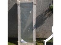 Shower door enclosure for tray 760 x 760
