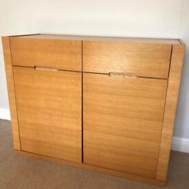 Wooden sideboard unit