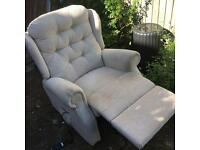 Electric recliner chair very comfy!!!!