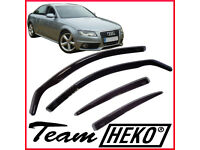 Brand New HEKO Wind Deflectors for Audi A4 B8 2008 - 2015 Salon 5 doors