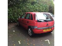 Corsa - spares and repairs