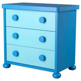 2 Ikea wardrobes 1 chest of drawers