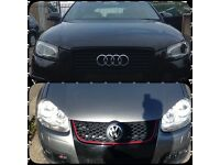 Audi A3 s-line rep and golf GT TDI GTI rep
