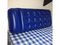 Single Air Bed + Mannual Pump - Used